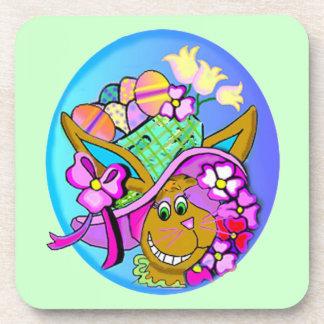 Easter Bonnet Coaster