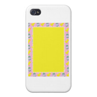 Easter Border iPhone 4/4S Cases