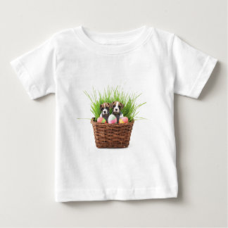 Easter boxer puppies tee shirt