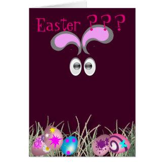 Easter bu..... greeting card