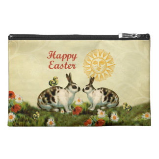 Easter Bunnies and Baby Chicks Travel Accessories Bags