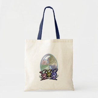 Easter Bunnies and Eggs Bag