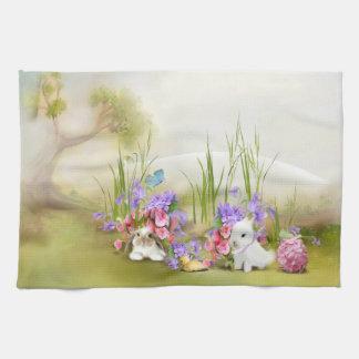 Easter Bunnies Kitchen Towel