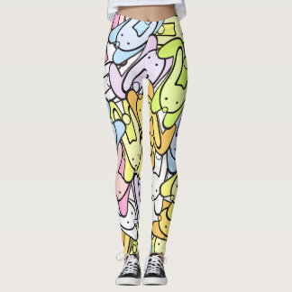 Easter bunnies leggings