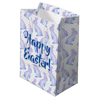 Easter Bunnies Medium Gift Bag