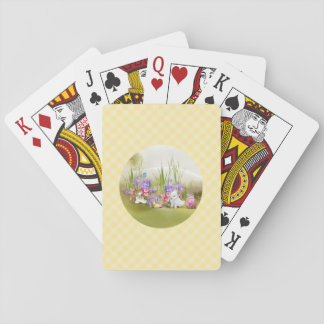 Easter Bunnies Playing Cards