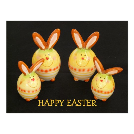 Easter Bunnies Postcard