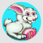 Easter Bunny 2 Classic Round Sticker