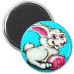 Easter Bunny 2 Fridge Magnets