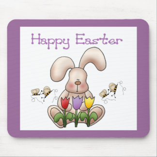 Easter Bunny 2 - Happy Easter Mousepad