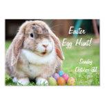"Easter Bunny 3.5"" X 5"" Invitation Card"