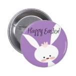 Easter Bunny 6 Cm Round Badge