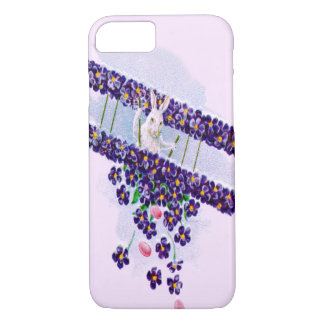 Easter Bunny Airplane Colored Egg iPhone 7 Case