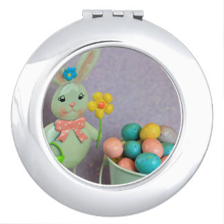 Easter Bunny and Eggs Mirrors For Makeup