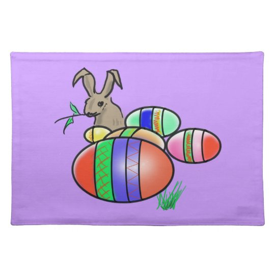 Easter Bunny and Eggs Place Mats