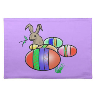 Easter Bunny and Eggs Placemat
