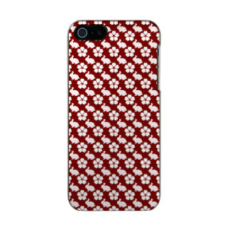 Easter bunny and flower pattern incipio feather® shine iPhone 5 case
