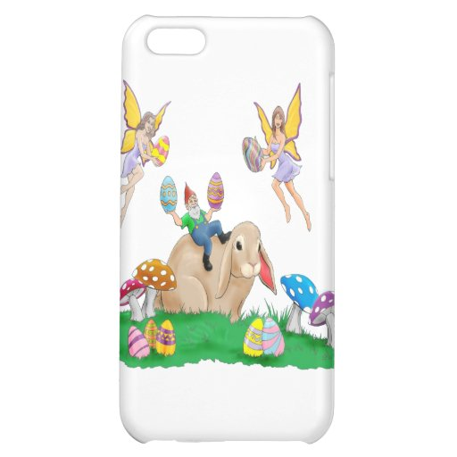 Easter Bunny And Friends Cover For iPhone 5C