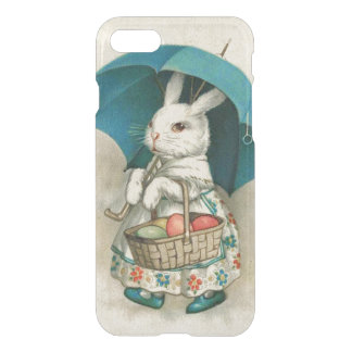 Easter Bunny Basket Colored Egg Umbrella iPhone 7 Case