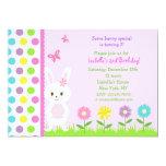 Easter Bunny  Birthday Party Invitations 13 Cm X 18 Cm Invitation Card