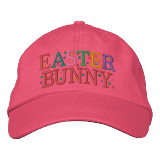 Easter BUNNY Cap by SRF Embroidered Hat