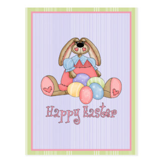 Easter Bunny Cards Postage Postcard