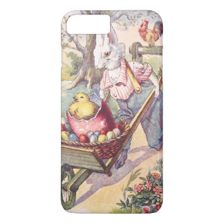 Easter Bunny Chick Colored Egg iPhone 7 Plus Case