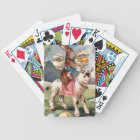 Easter Bunny Chick Coloured Painted Egg Goat Bicycle Playing Cards