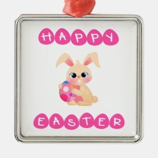 Easter Bunny Christmas Ornament