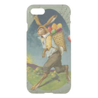 Easter Bunny Colored Egg Sun iPhone 7 Case