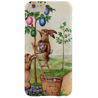 Easter Bunny Colored Egg Tree Barely There iPhone 6 Plus Case