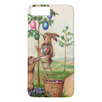 Easter Bunny Colored Egg Tree iPhone 8 Plus/7 Plus Case
