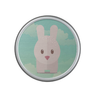 Easter Bunny Cute Animal Nursery Art Illustration Bluetooth Speaker