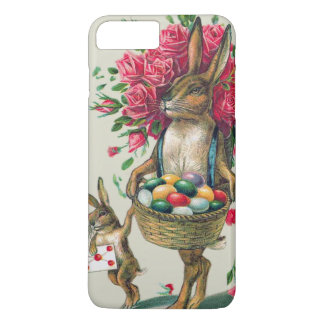 Easter Bunny Dad Child Rose Basket Egg iPhone 8 Plus/7 Plus Case
