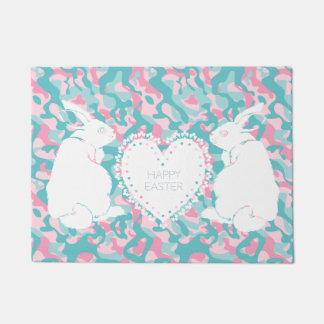 Easter Bunny Doormat