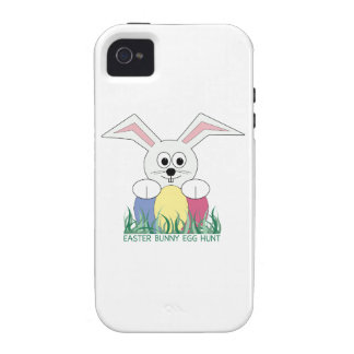 Easter Bunny Egg Hunt iPhone 4 Covers