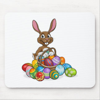 Easter Bunny Egg Hunt Mouse Pad