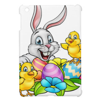 Easter Bunny Eggs and Chicks iPad Mini Cover