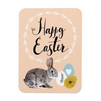 Easter Bunny & Eggs Easter Gift Magnets