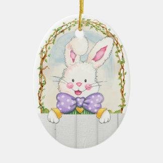 Easter Bunny Eggs - SRF Christmas Ornament
