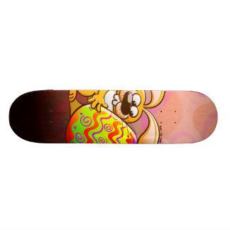 Easter Bunny Falling in Love Skate Decks