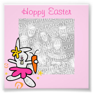 Easter Bunny Frame Photo