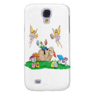 Easter Bunny Friends Galaxy S4 Case