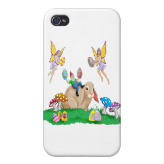 Easter Bunny Friends iPhone 4 Cases
