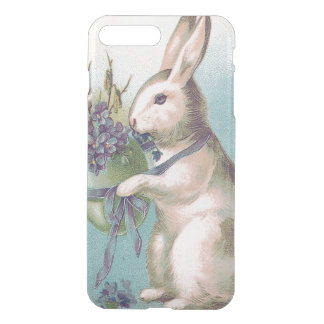 Easter Bunny Holding Colored Egg iPhone 7 Plus Case