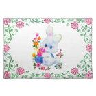 Easter Bunny Holiday cartoon place mat