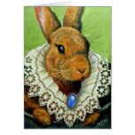 Easter Bunny In A Victorian Lace Collar