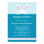 Easter Bunny Invitation 13 Cm X 18 Cm Invitation Card