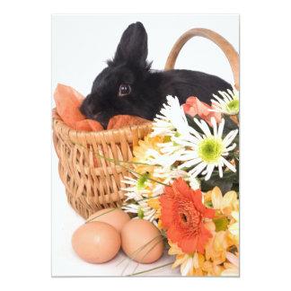 Easter Bunny 13 Cm X 18 Cm Invitation Card