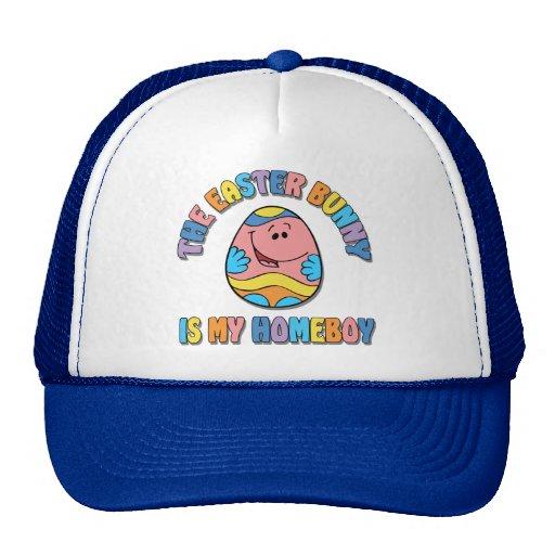 Easter Bunny is my Homeboy Trucker Hat